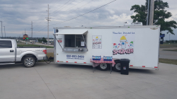 Snowie Shaved Ice Trailer