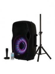bluetooth speaker with led lights