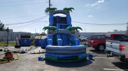 22 foot blue crush dry slide