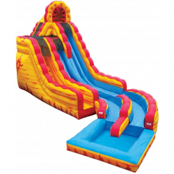18' Fire N' Ice Slide