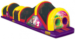 Circus Time Obstacle Course