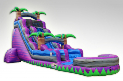 22' Purple Monster Slide