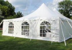 Tent Sidewalls with Windows Add-on