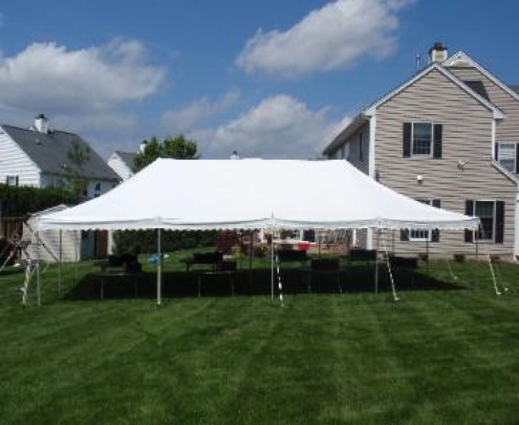 20 x 40 Canopy Pole Tent & 20 x 40 Canopy Pole Tent u2013 Airtime Inflatables