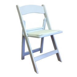 White Padded chair ''Bridal''