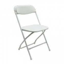 Folding Chairs WHITE
