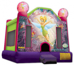 Tinker Bell Jump - 14.4 L X15.4 W X 13.0 H