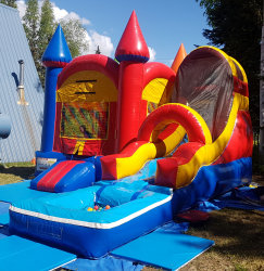Extra Large Bouncer with Pool