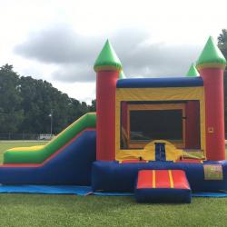 Multi Color Castle w/slide