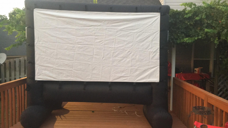 Inflatable Outdoor Movie Systems