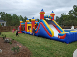 Multi Color Obstacle Course
