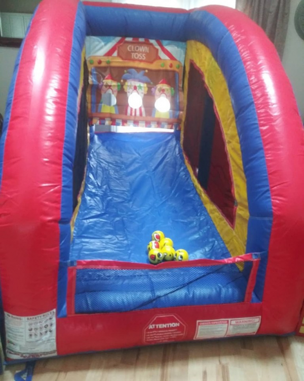 Inflatable Star Clown Toss Game