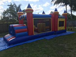 Obstacle w/ Bounce House
