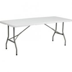 White Table 4 ft