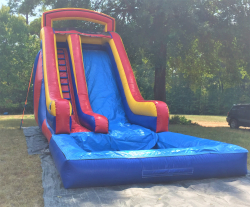 18ft Red waterslide