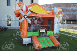Animal Ranch Toddler Slide Bounce House Combo