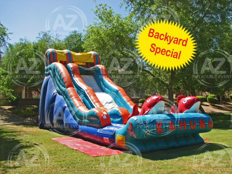 Big Kahuna Water Slide 19' Tall - Arizona Inflatable Events