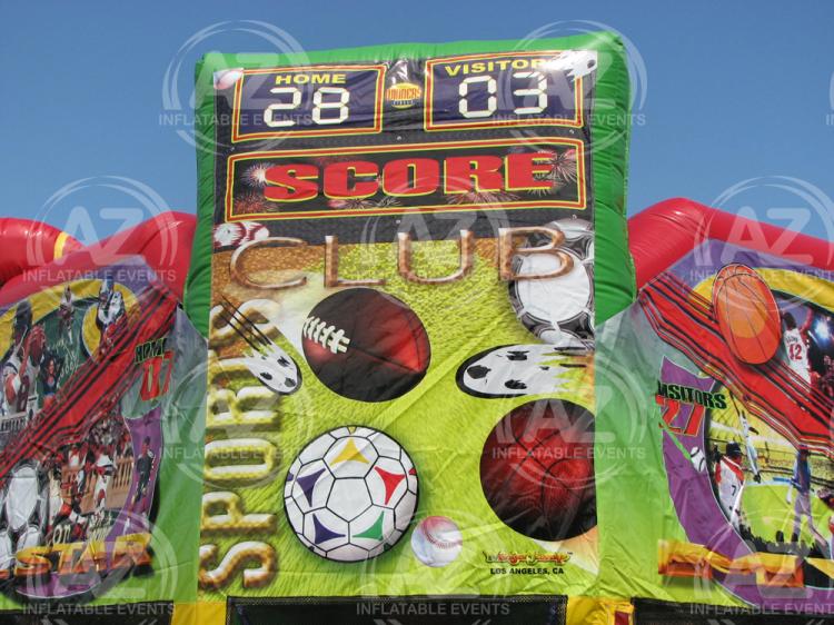 Sports Club Bounce House Arizona Inflatable Events