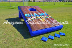 Giant Inflatable Cornhole