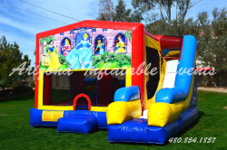 Disney Princess 7n1 Slide Bouncer Combo