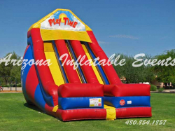 Double Lane Mega Slide 24' Tall