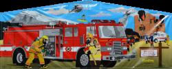 Fire Truck Banner