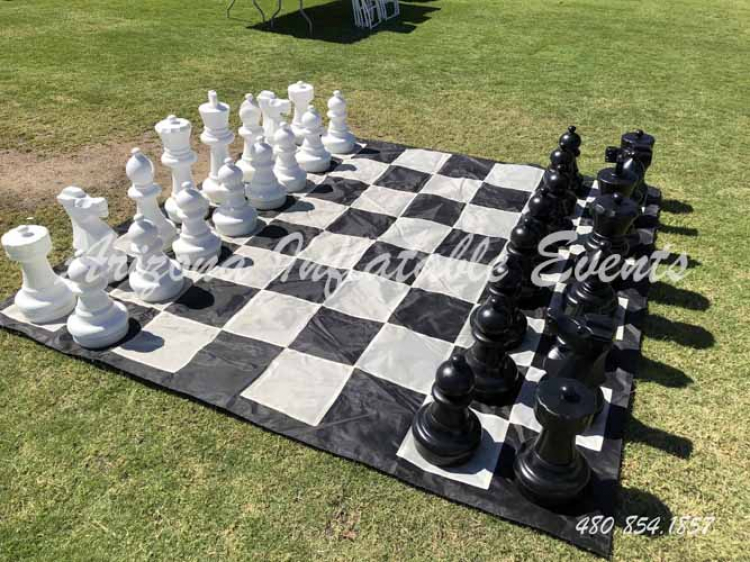 Giant Chess Game Arizona Inflatable Events