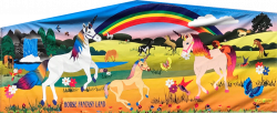 Horse and Unicorn Fun Banner