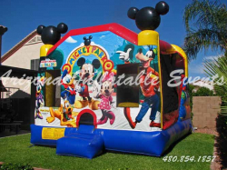 Mickey Mouse & Friends 4n1 Slide Bouncer combo