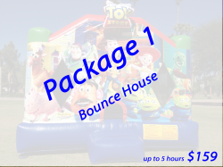 Package 1 Bounce House