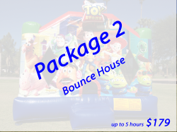 Package 2 Bounce House