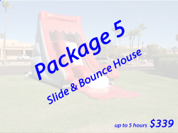 Package 5 Bounce House and Slide