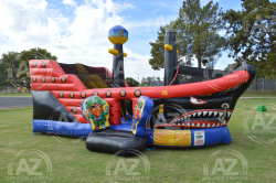 Little Pirate Ship Bounce House Playland