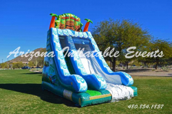 Tiki Dry Slide 18' Tall