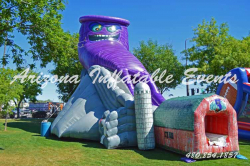 Twisted Twister Dry Slide 32' Tall