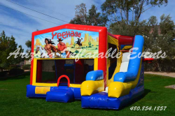 Western 7n1 Slide Bouncer Combo