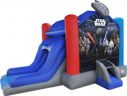 STAR WARS JUMP AND SLIDE COMBO