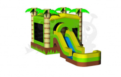 MR 3n1 Tropical 435 combo flyer 290759409 Jump and Slide 435 Castle