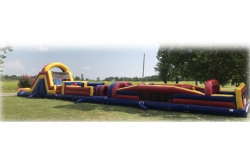 74 FT Obstacle Course