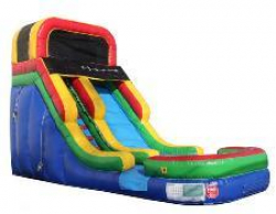 16 ft Rainbow Slide with Pool - Dry