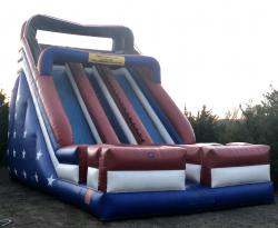 24 ft Dual Lane Slide -Dry only