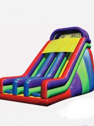 22 ft Wacky Dual Lane Slide (Dry Only)