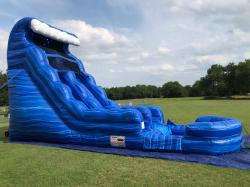 18 ft Blue Crush Slide - Wet