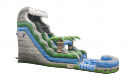 18 ft Tropical Oasis Slide - Dry