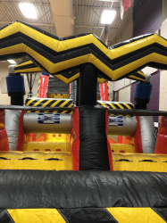 60 ft High Voltage Obstacle Course