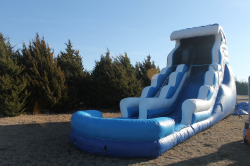 20 ft Double Drop with pool - Wet only
