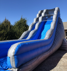 20 ft Grey Crush Slide - Dry