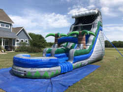 18 ft Tropical Oasis Slide - Dry