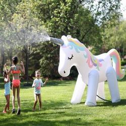 Unicorn Yard Sprinkler Inflatable