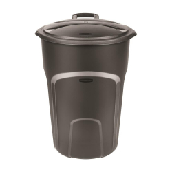Black 32 Gallon Trash Cans With Liners